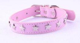Artleather Pink Star halsband