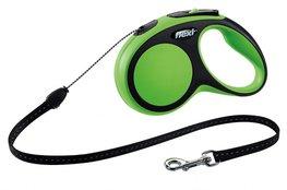 Flexi New Comfort koord S 5 mtr groen