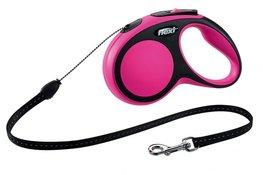 Flexi New Comfort koord S 5 mtr roze