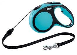 Flexi New Comfort koord S 8 mtr blauw