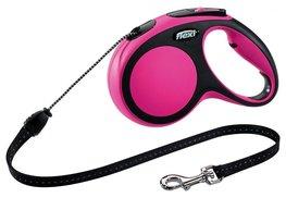 Flexi New Comfort koord S 8 mtr roze