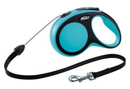 Flexi New Comfort koord M 5 mtr blauw