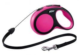 Flexi New Comfort koord M 5 mtr roze