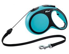 Flexi New Comfort koord M 8 mtr blauw