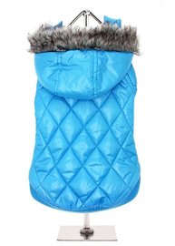 Blue Thermo Quilted Parka