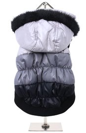Grey Thermo Quilted Parka