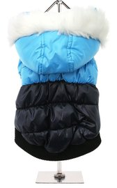 Blue/Black Thermo Quilted Parka