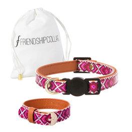FriendshipCollar & armband Miss Purrfect