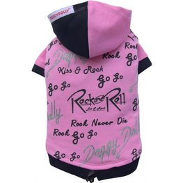 Doggy Dolly Rock&Roll hoodie