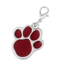 Red Paw charm