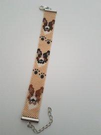 Miyuki armband Welsh Corgi Cardigan in 3 kleuren