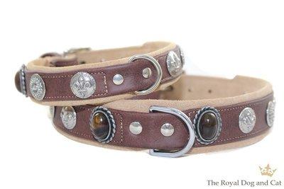 Louis Brown hondenhalsband