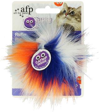 AFP Furry Fluffy Ball Orange / Blue