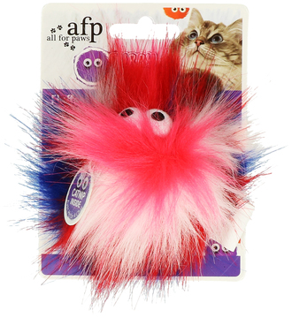 AFP Furry Fluffy Ball Red / White