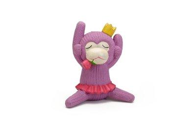 Beeztees latex hondenspeeltje Queeny roze 14 cm