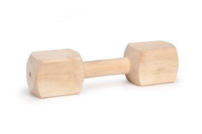 Beeztees apporteerblok hout 600 tot 650g