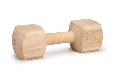Beeztees apporteerblok hout 900 tot 1000g
