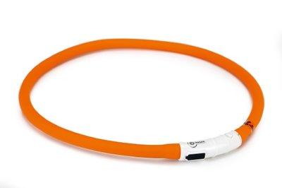 Hondenhalsband Met Licht : Beeztees safety gear halsband met usb aansluiting dogini oranje