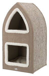 Trixie Cat Tower Marcy bruin / creme