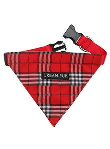 Urban Pup Bandana Red Tartan