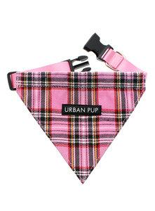 Urban Pup Bandana Pink Tartan