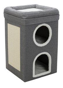 Trixie Krabton Cat Tower Saul grijs 39x39x64 cm