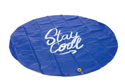Beeztees Sprinkler Mat Stay Cool blauw 130 cm
