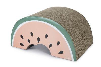 Beeztees karton krabspeelgoed Melon 50 x 33 x 25 cm